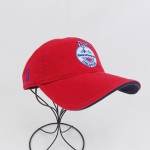 PGA Tour Bank Of America Colonial Hat Red NWT
